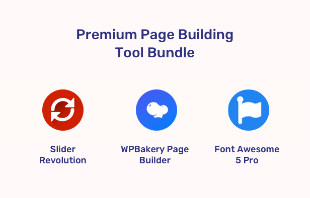 App Landing Software Website WordPress - Plugins Bundle