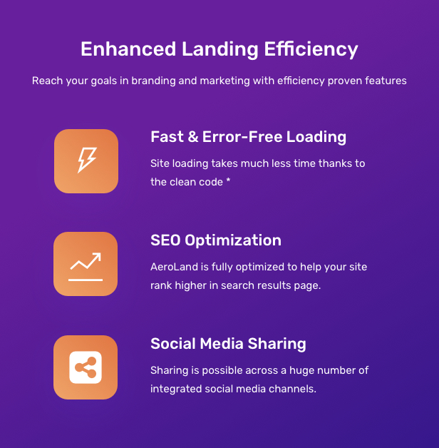 App Landing AeroLand - App Landing Software Website WordPress Theme - 6