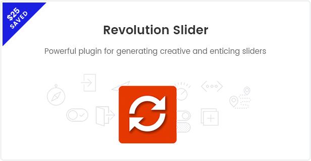 Fashion WooCommerce WordPress Theme - Revolution Sliders