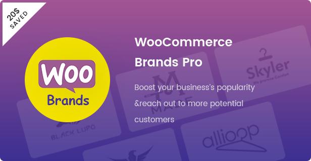 ファッションWooCommerceWordPressテーマ-Wooブランドプラグイン-$ 20