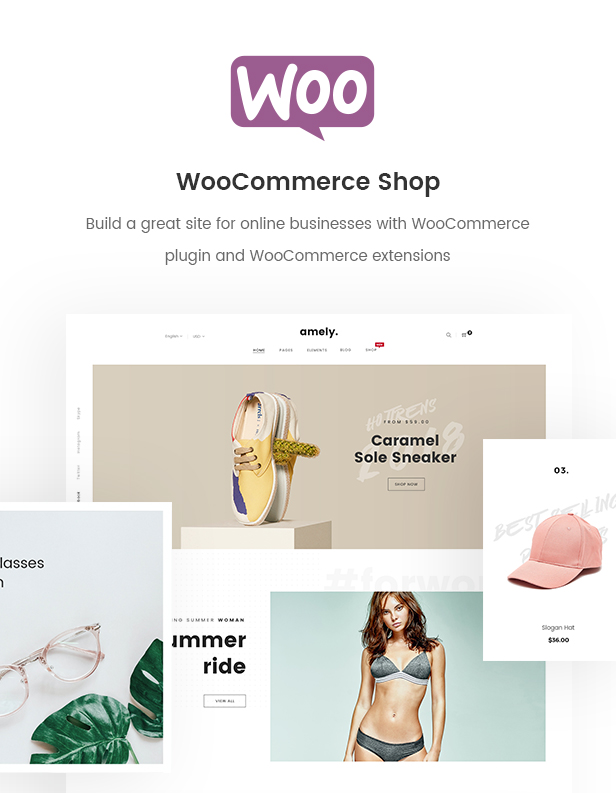 Fashion Shop WordPress Theme for WooCommerce - Amely Download