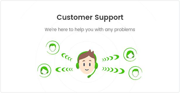 Fashion WooCommerce WordPress Theme - Customer Support