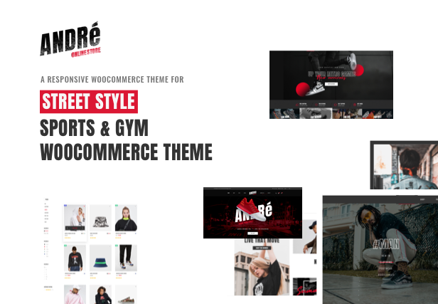 Andre - Street Style Sports & Gym WooCommerce Theme - 4