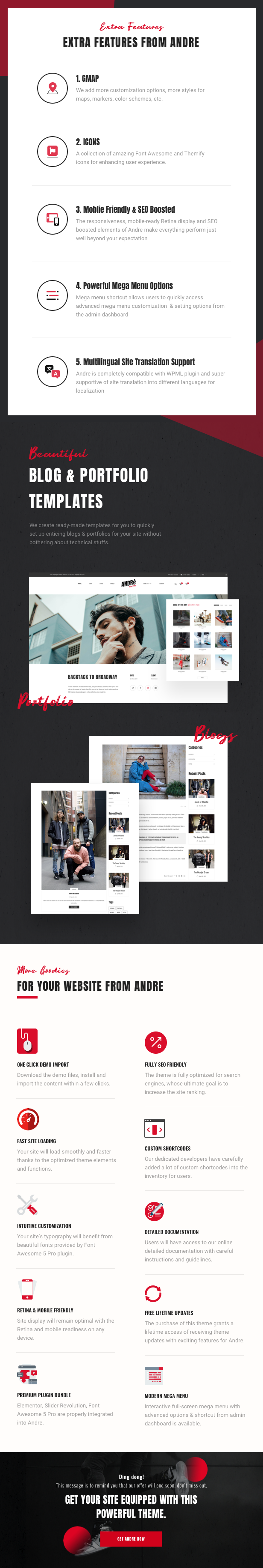 Andre - Street Style Sports & Gym WooCommerce Theme - 16