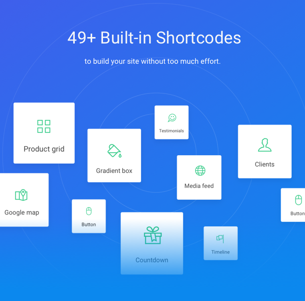 Startup WordPress Theme - Built-in Shortcodes