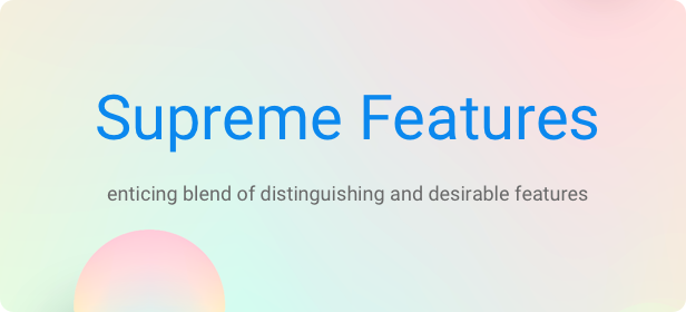 Startup WordPress Theme - Supreme Features