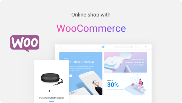 Startup WordPress Theme - Woocommerce Integrated