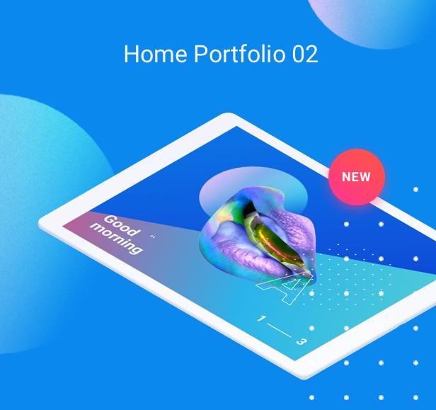Startup WordPress Theme - Porfolio 2