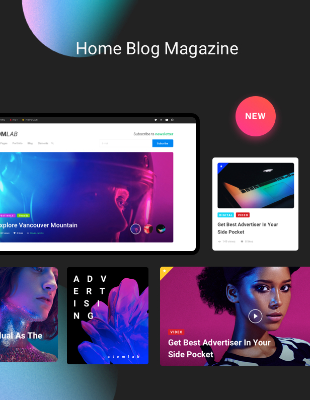 Startup WordPress Theme - Blog Magazine