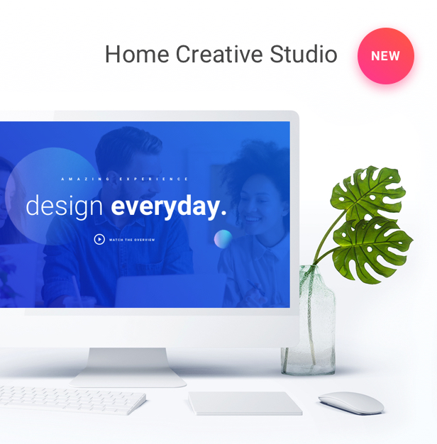 Startup WordPress Theme - Creative Studio