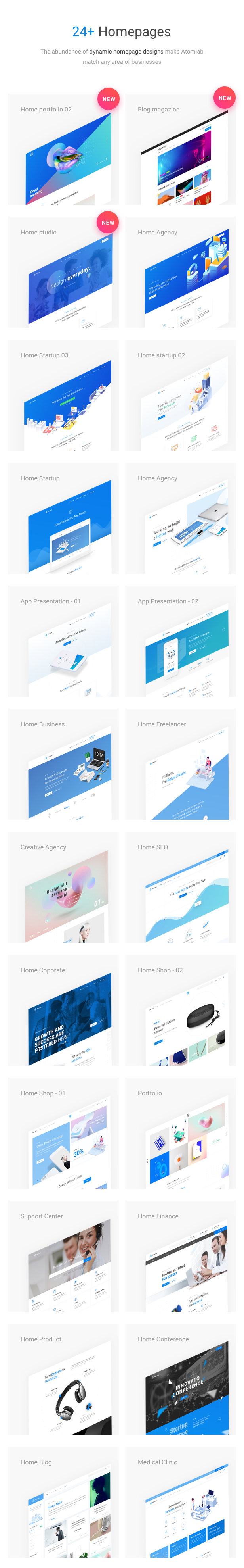 Startup WordPress Theme - 24+Homepages