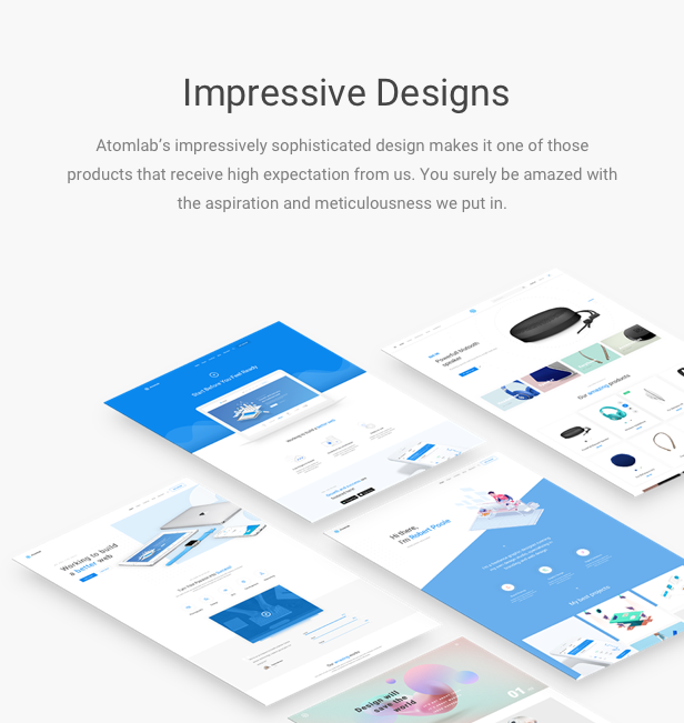 Startup WordPress Theme - Impressive Design
