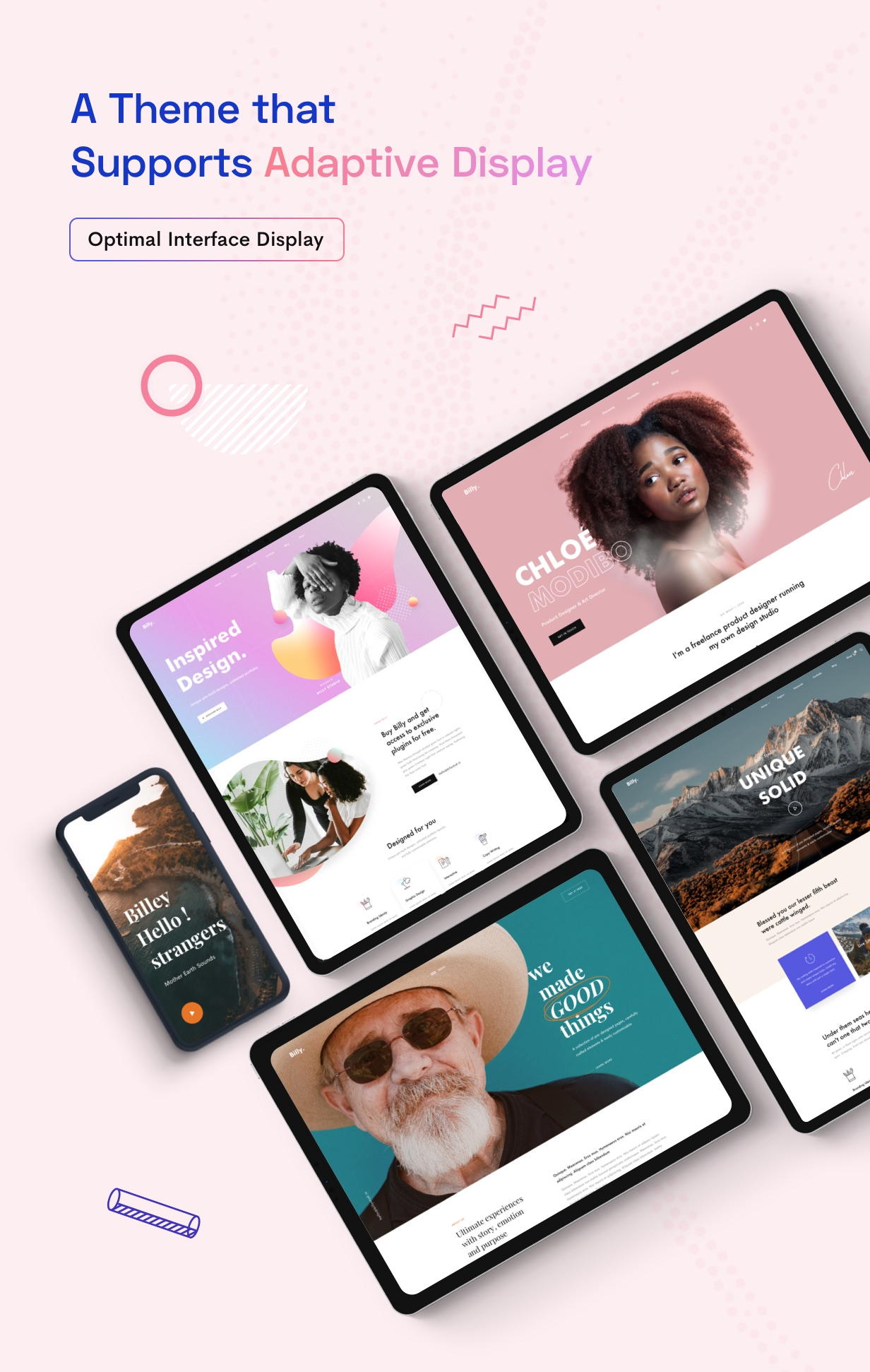 Billey - Creative Portfolio & Agency Elementor WordPress Theme - 9