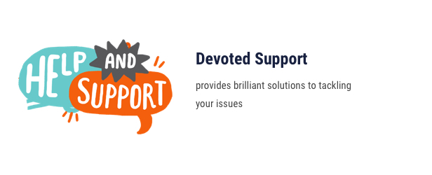 Building Company WordPress Theme - Devoted Support