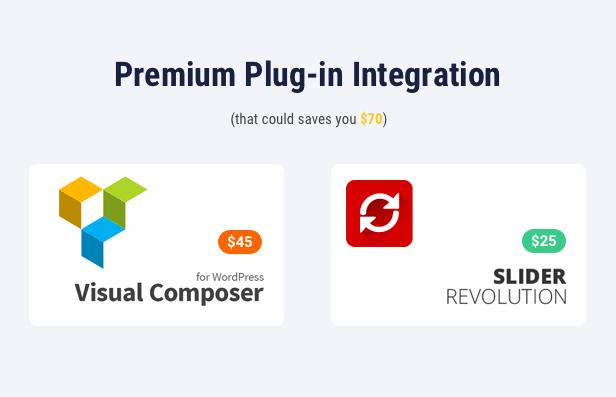 Building Company WordPress Theme - Premium Plugins Integration