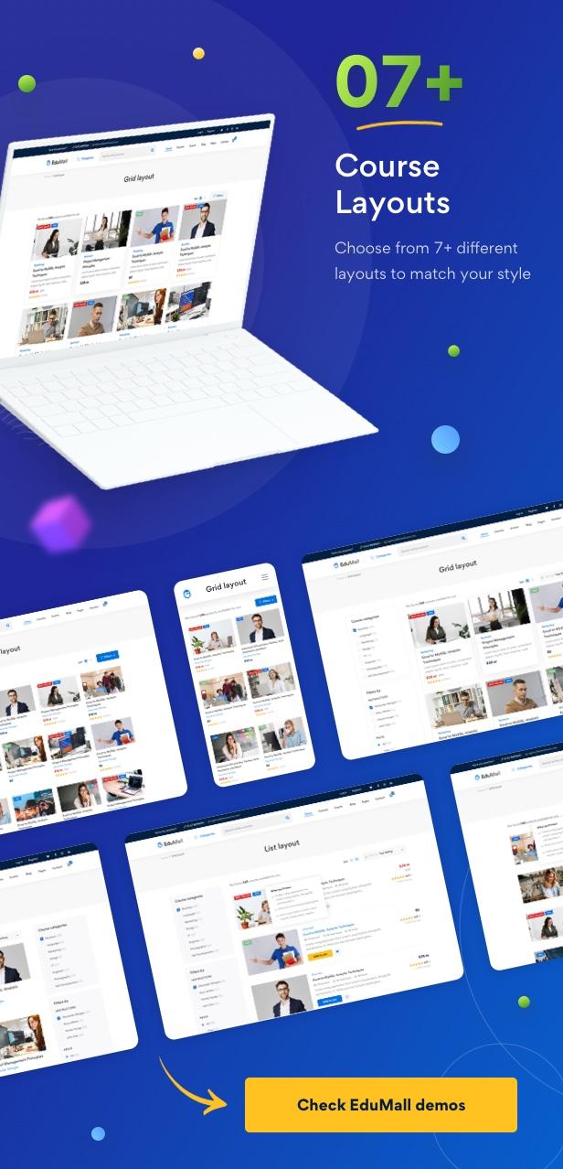 Edumall - Professional Education WordPress Theme - 17