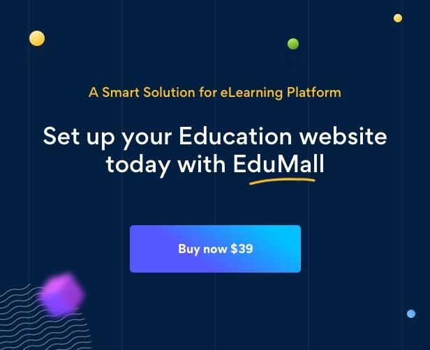 Edumall - Professional Education WordPress Theme - 20