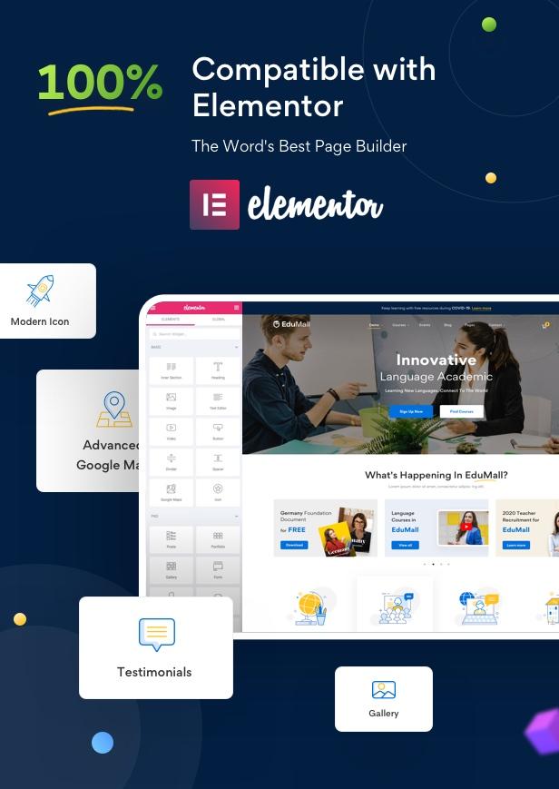 Edumall - Professional Education WordPress Theme - 8
