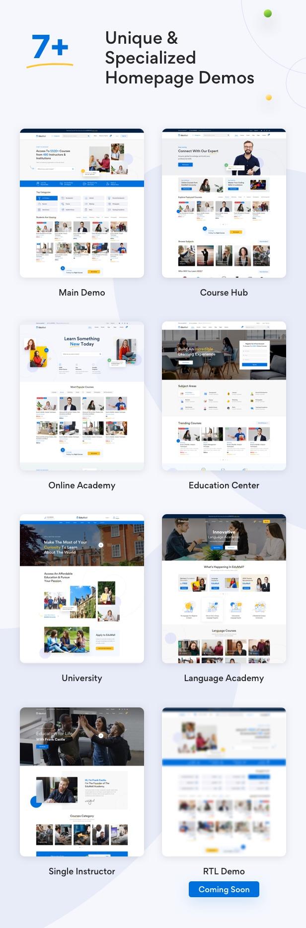 Edumall - Professional Education WordPress Theme - 10