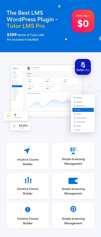 Edumall - Professional Education WordPress Theme - 11