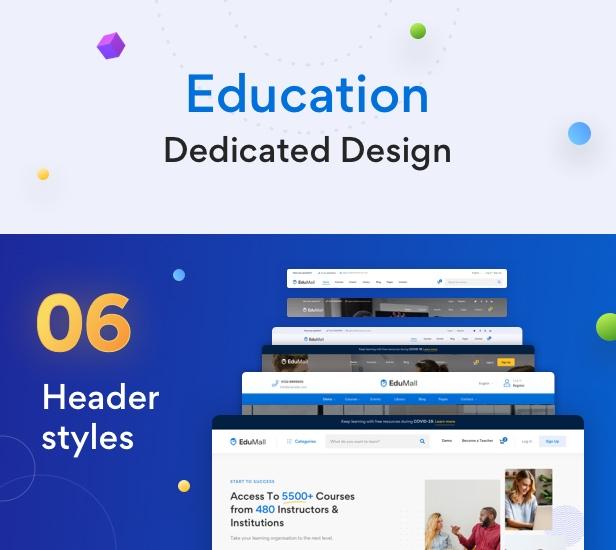 EduMall - Professional LMS Education Center WordPress Theme - 35