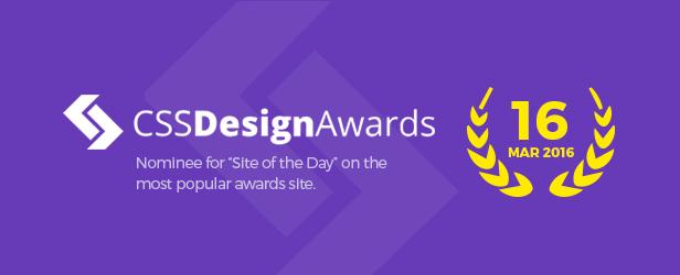 WordPres Finance & Tema Bisnis Keuangan - Penghargaan