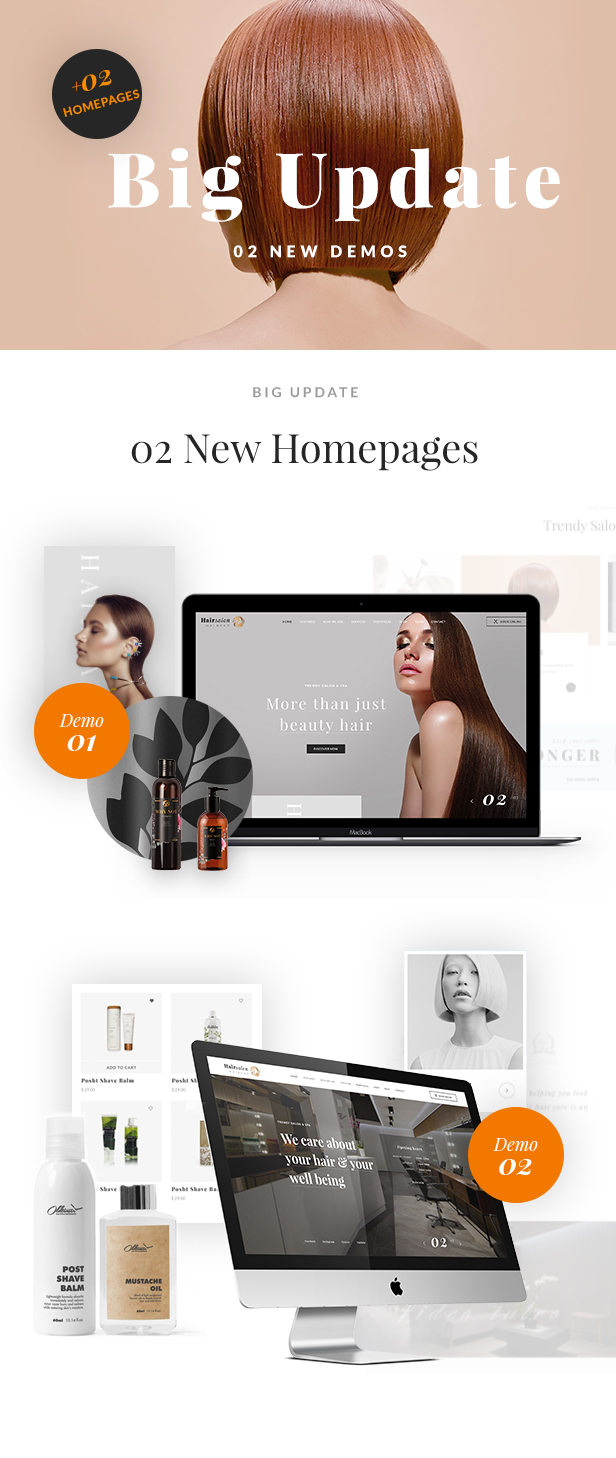 Hair Salon Baber Shop WP Theme  Hair Salon – Barber & Beauty Shop WordPress Theme free download