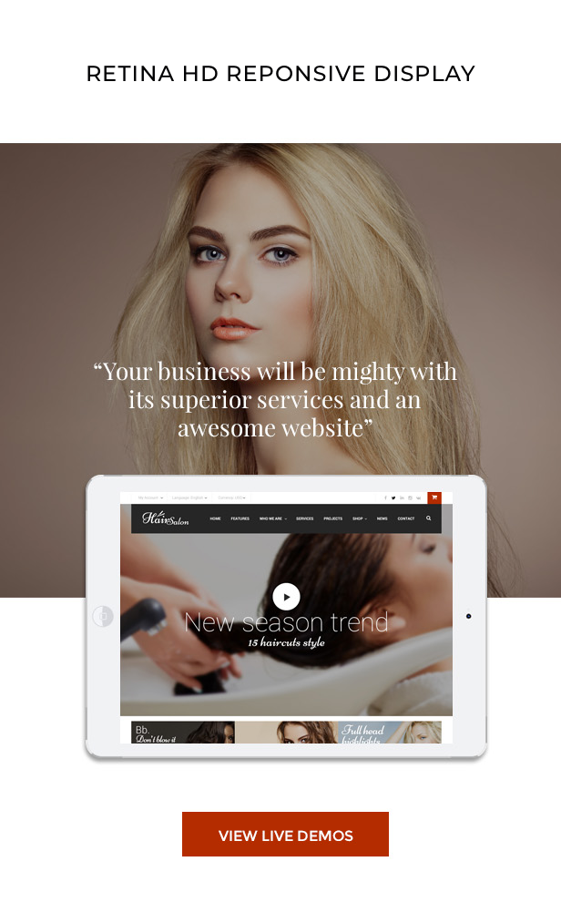 Hair Salon - Barber Shop, Hair Salon WordPress Theme - 9 Hair Salon – Barber & Beauty Shop WordPress Theme free download