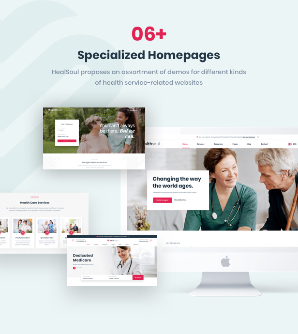Healsoul - Medical Care, Home Healthcare Service WordPress Theme - 11