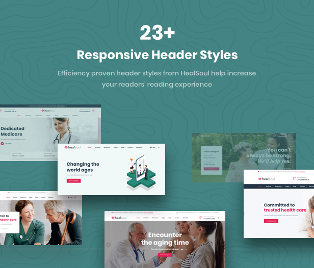 Healsoul - Medical Care, Home Healthcare Service WordPress Theme - 13
