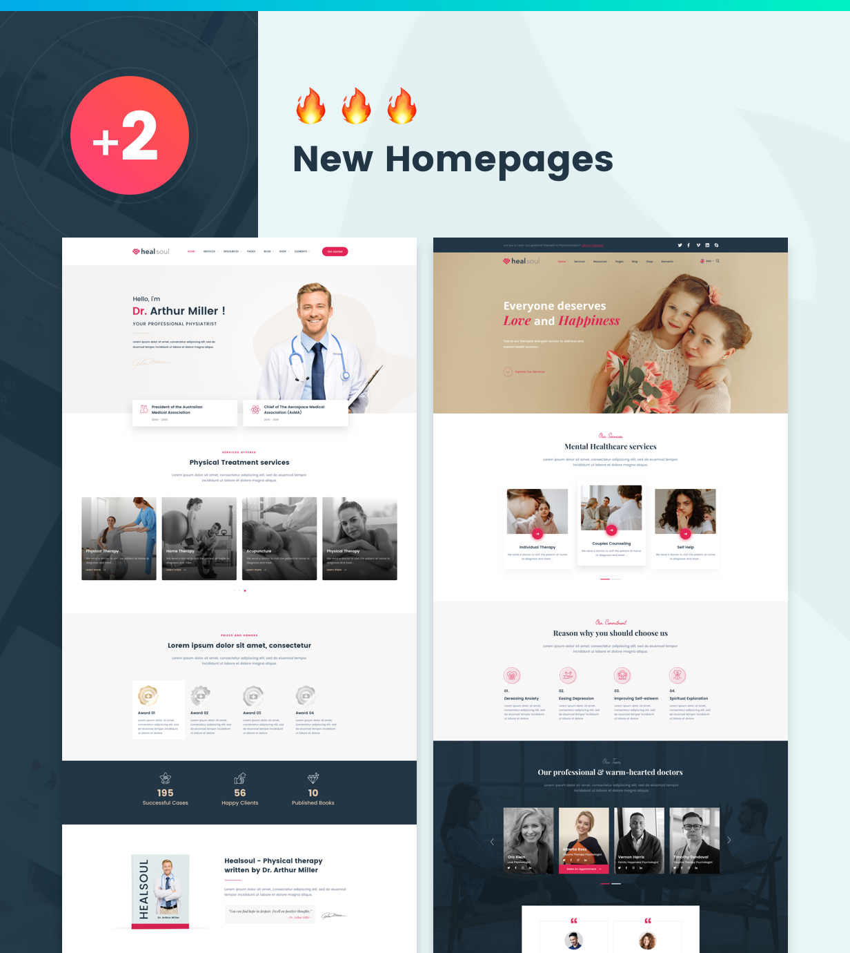 Healsoul - Medical Care, Home Healthcare Service WP Theme - 5