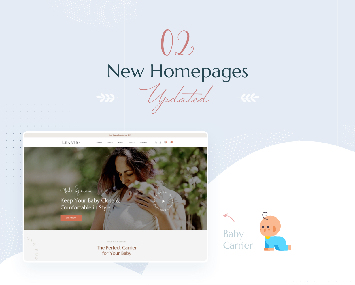 LeArts - Handmade Shop WooCommerce WordPress Theme - 4