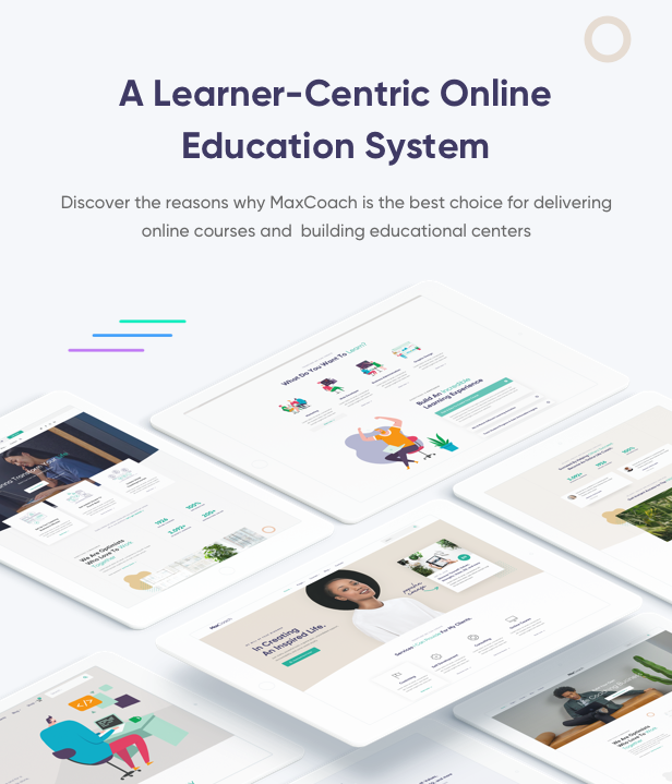 MaxCoach - Online Courses & Education Elementor WP Theme Download