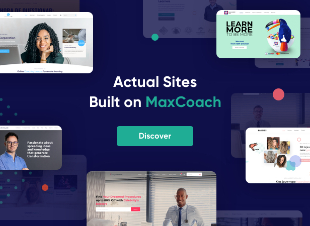 MaxCoach - Online Courses, Personal Coaching & Education WP Theme - 6