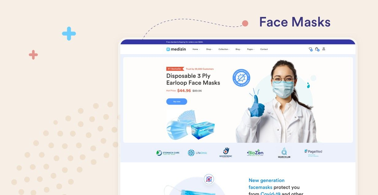 Medizin - Medical WooCommerce Theme - 2