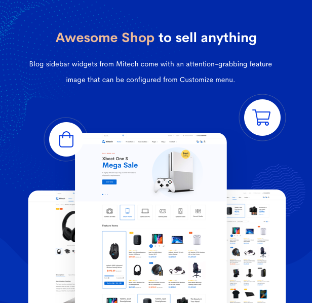 IT Solutions Mitech - Technology, IT Solutions & Service WordPress Theme - Features