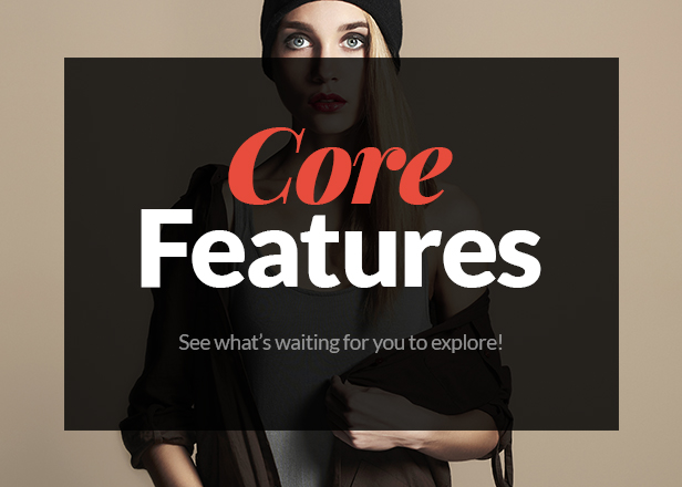 Fashion Store WooCommerce WP Theme - Core Features
