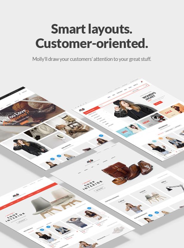 Fashion Store WooCommerce WP Theme - Smart Layouts