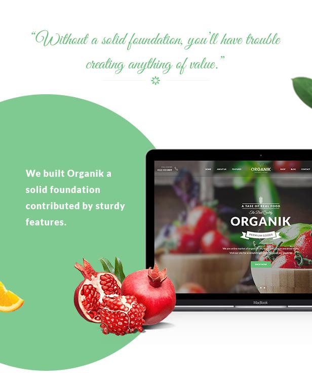 Organic Food Store WordPress Theme - Organik Download