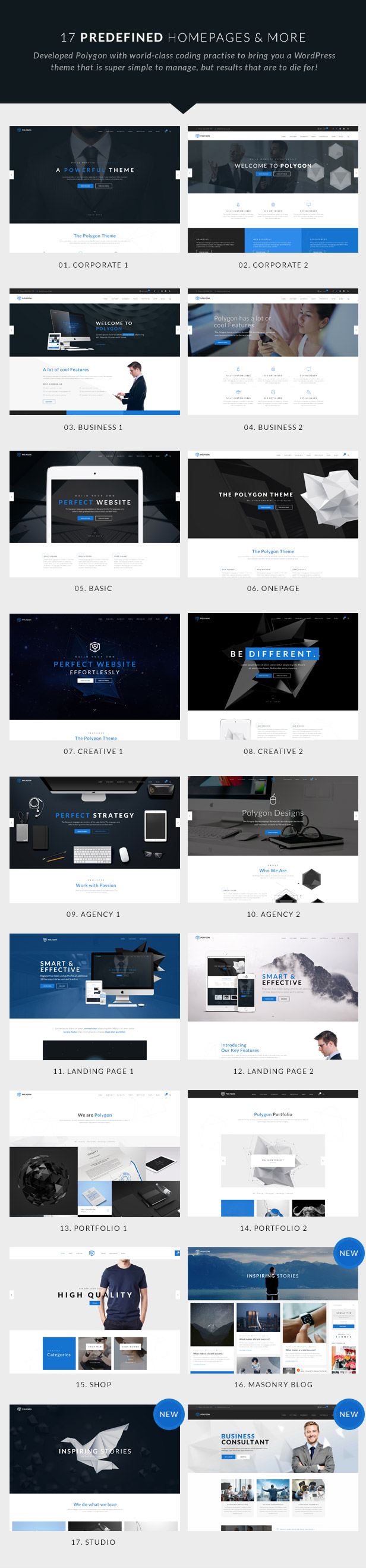 Business Corporation WordPress Theme - Beautiful Homepages