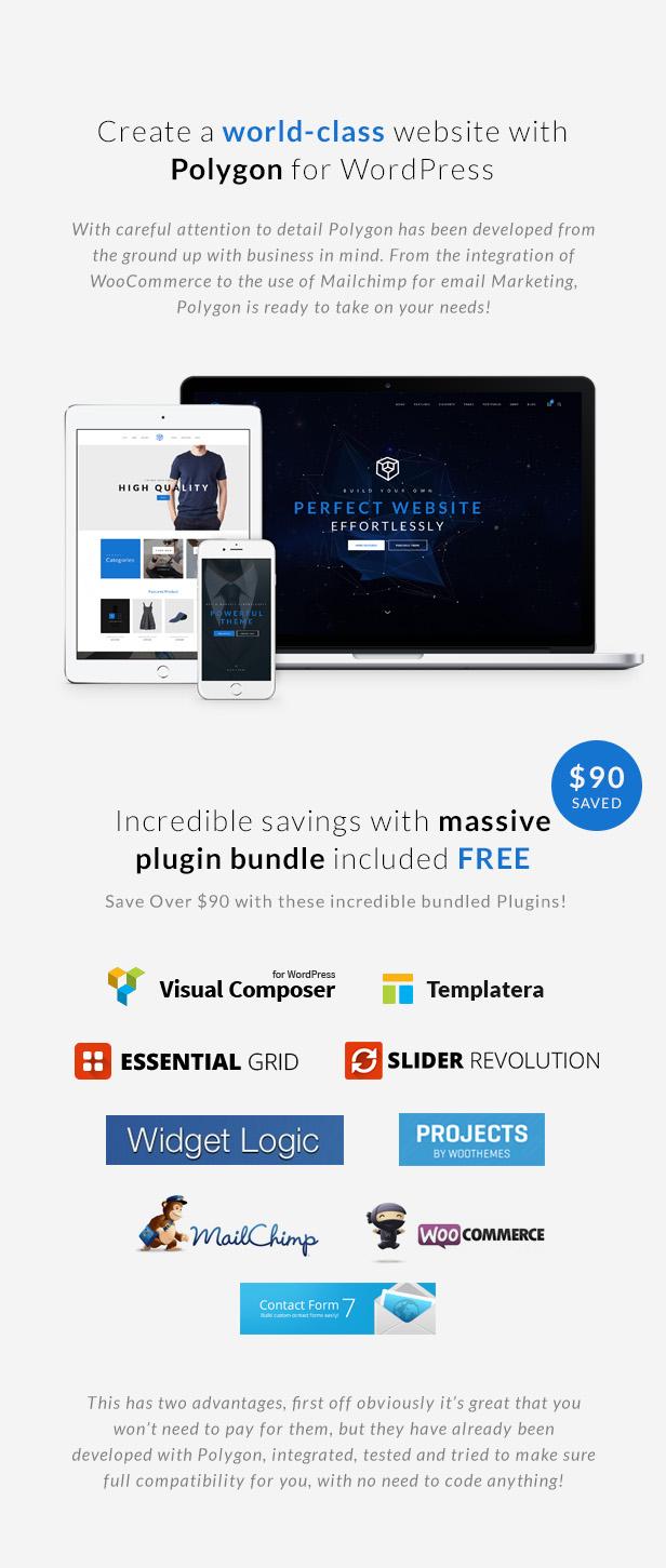Business Corporation WordPress Theme - Plugin Bundle
