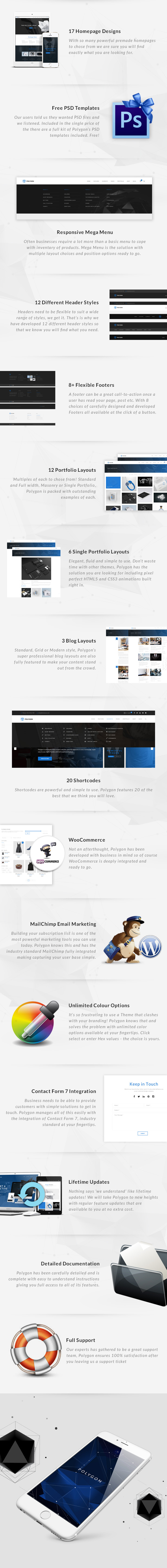 Polygon - A Powerful Multipurpose WP Theme - 9