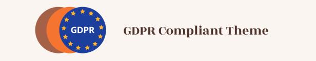 Tema de WordPress de diseño vintage -GDPR compatible