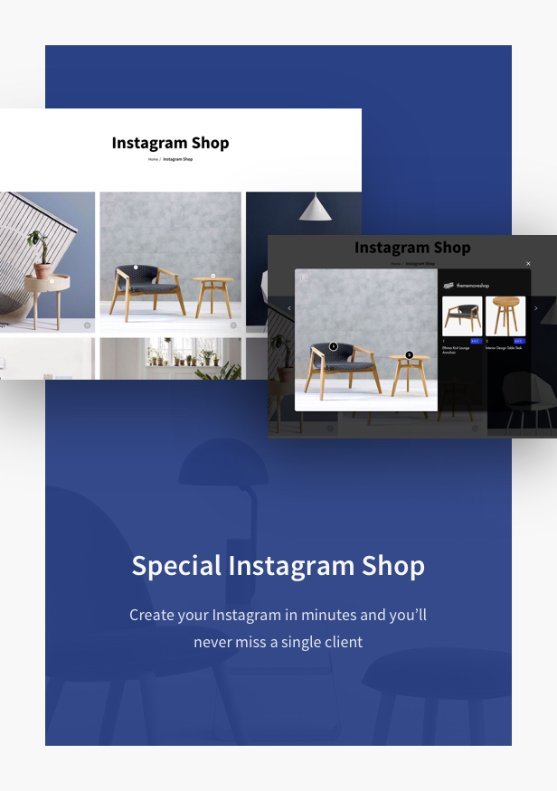 Furniture Shop WooCommerce WordPress Theme - Advanced Shopping Features