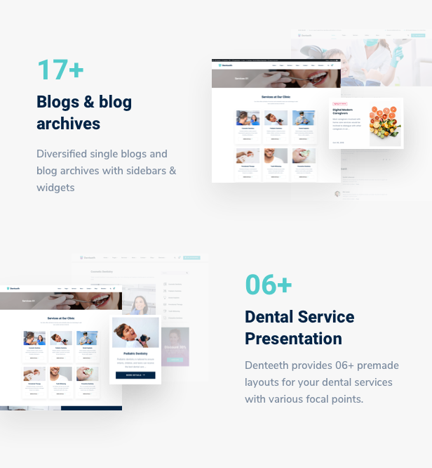 SmilePure - Dental & Medical Care WordPress Theme - 9