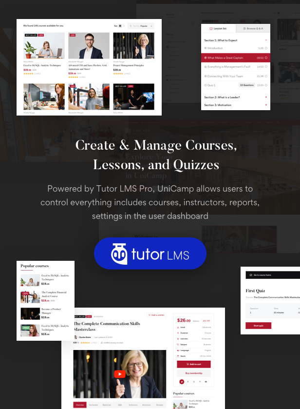 Unicamp - University and College WordPress Theme - 5