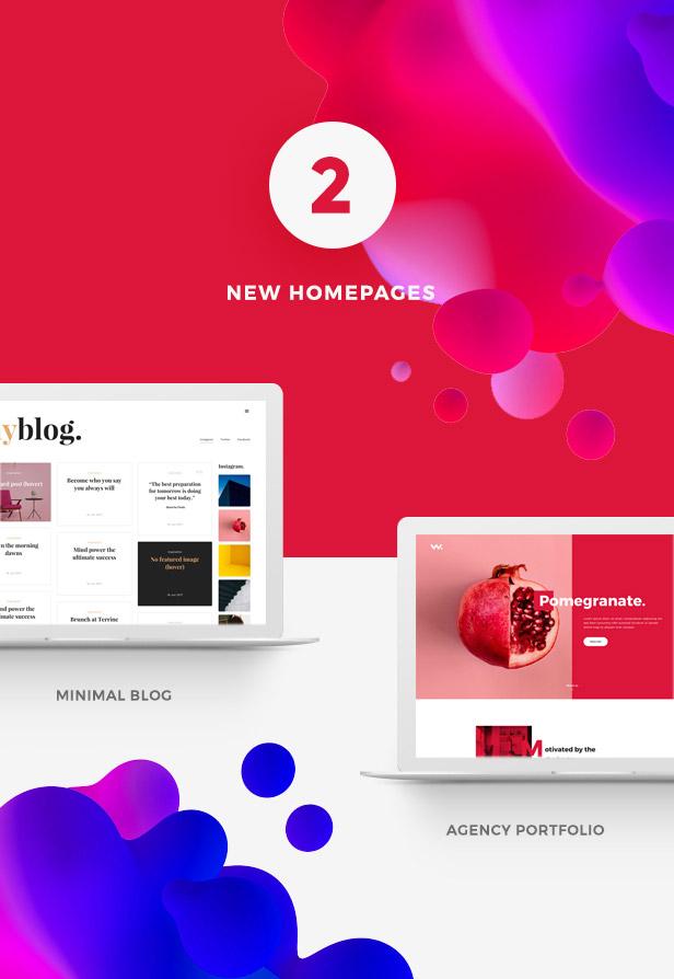 Corporation WordPress Theme - New Homepages