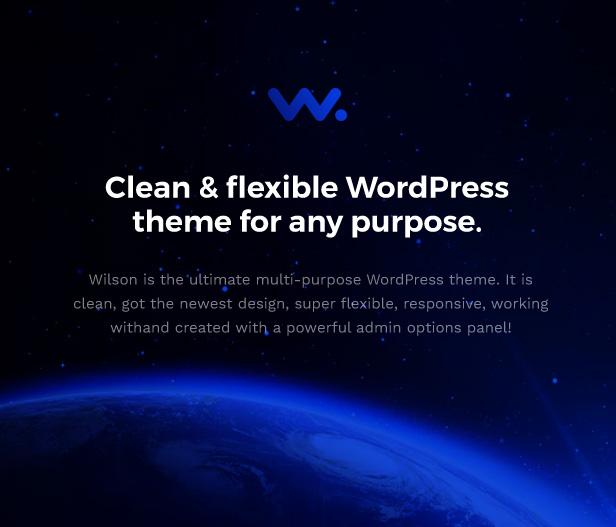 Corporation WordPress Theme - Clean & Flexible