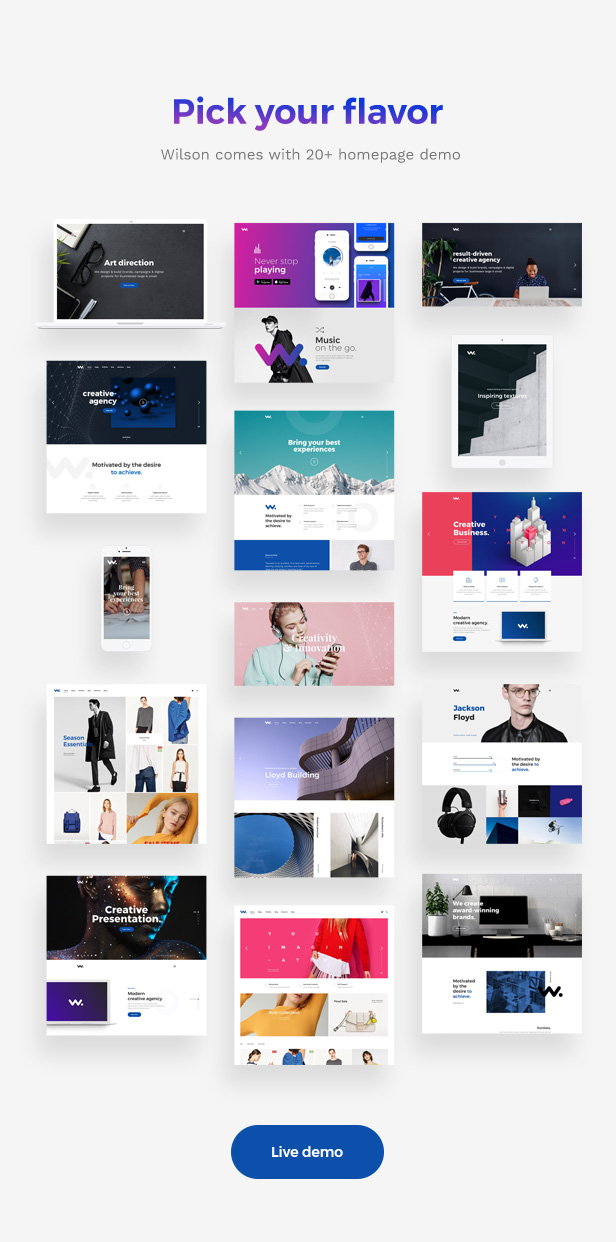Corporation WordPress Theme - 20+ Homepages