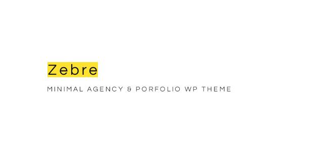 Zebre - Minimal Portfolio WordPress Theme For Freelancer & Agency - 5